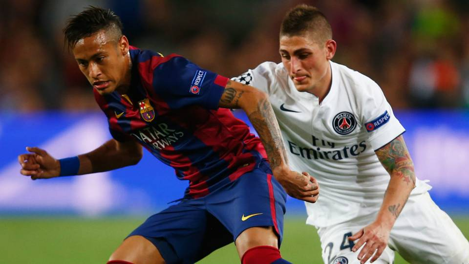 Keputusan Verratti berubah usai PSG kalahkan Barca 4-0