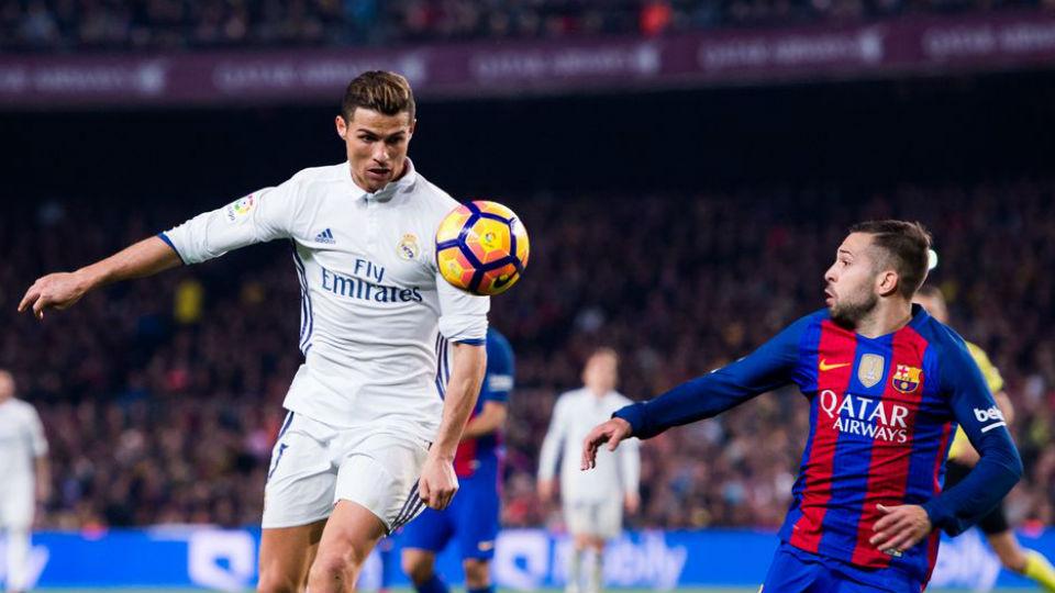 Ronaldo yang gagal mencetak gol dalam laga El Clasico kemarin